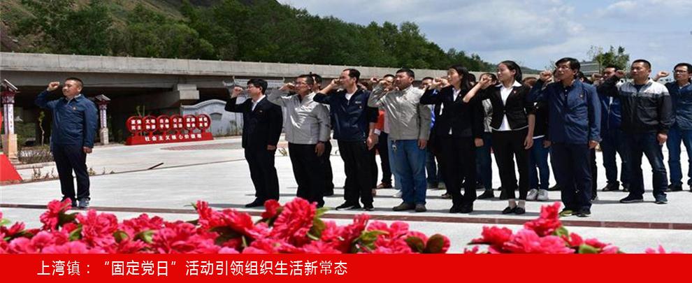 """上湾镇:""""固定党日""""活动引领组织生活新常态"""