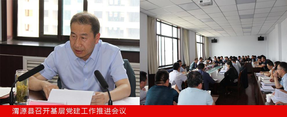 渭源县召开基层党建工作推进会议